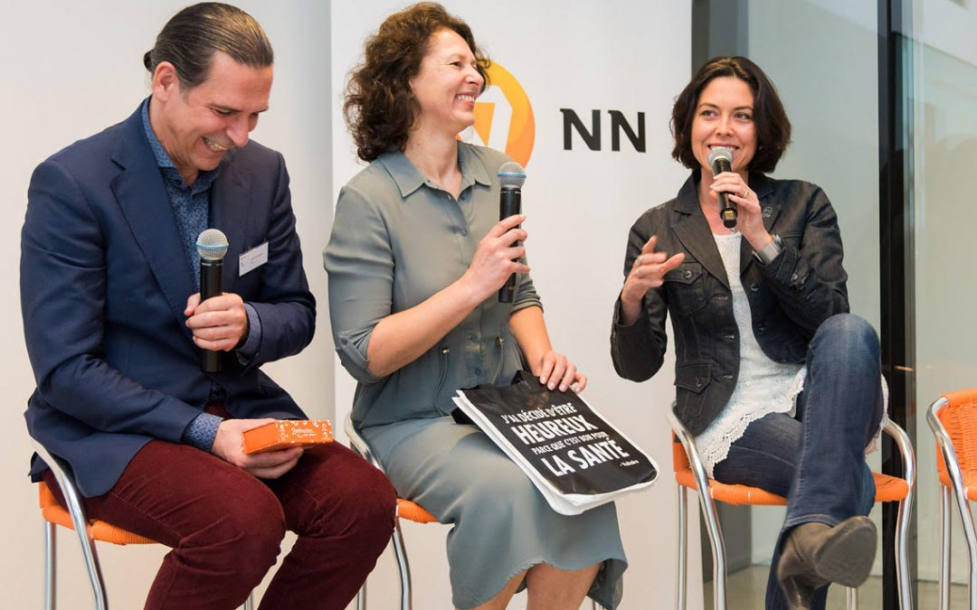 Conférence de presse du 15 mars 2018 sur le bonheur des Belges.
